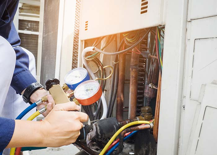 hvac contractor repair heating in houston
